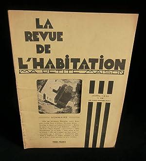 """LA REVUE DE L'HABITATION """" MA PETITE: KLEIN André /"""