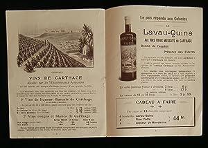 Catalogue ) RENE LAVAU, Propriétaire - Exportateur, TUNIS ( TUNISIE ) , La plus importante ...