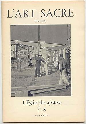 L'ART SACRE : L'EGLISE DES APÔTRES .: LURCAT André /
