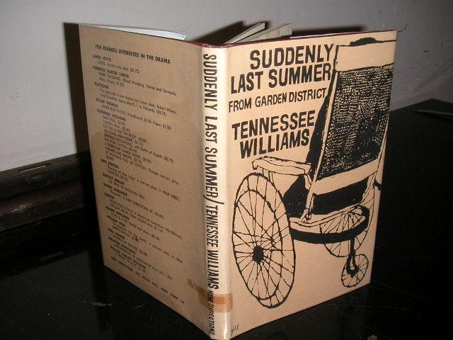 Suddenly Last Summer Book