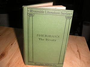 The Rivals: A Comedy: Richard Brinsley Sheridan