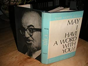 May I Have a Word with You?: Rabbi Morris Adler