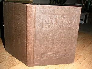 Gregg Shorthand Dictionary: John Robert Gregg