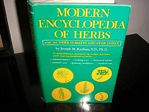 Modern Encyclopedia of Herbs with the Herb-O-Matic: Joseph M. Kadans