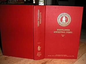 Mayflower Ancestral Index - Volume 1: Milton E. Terry,