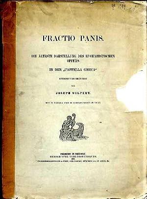 Fractio Panis. Capella Greca Rom. 1895: Wilpert Josef