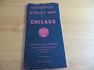 DOUBLE INDEXED STREET MAP OF CHICAGO