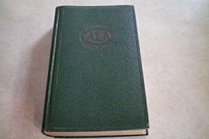AUTOMOBILE GREEN BOOK ALA 1933 All States East of the Mississippi River, Eastern Ontario, Quebec ...