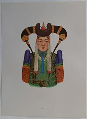 National Costumes of the Mongolian People's Republic