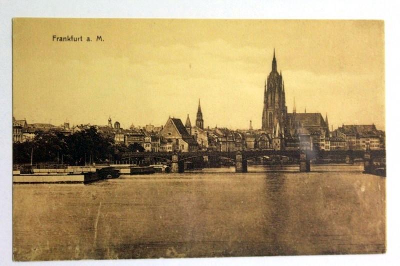 Ansichtskarte. Frankfurt a. M.: Ansichtskarte: