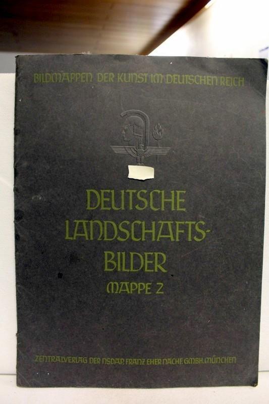 Deutsche Landschaftsbilder. Mappe 2 Herausgegeben vom Beauftragten: Zentralverlag der NSDAP,