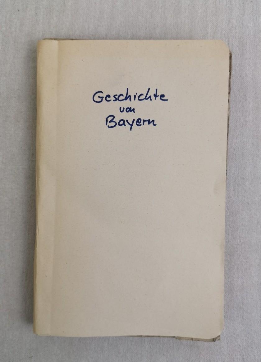 Die Geschichte von Bayern für Schulen.: Schubert, Gotthilf Heinrich