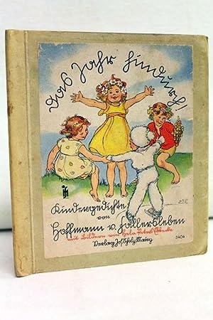 Das Jahr hindurch! Kindergeschichtn. Mit Bildern von Hela Peters Ebbecke.: Fallersleben, Hoffmann v...