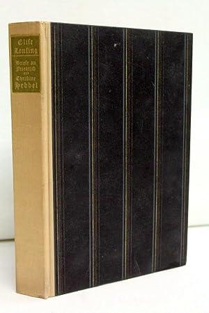Briefe an Friedrich und Christine Hebbel. herausgegeben: Lensing, Elise und