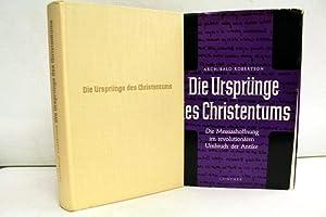 Die Ursprünge des Christentums. Die Messiashoffnung im: Robertson, Archibald: