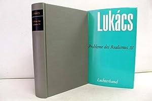 Der historische Roman. Probleme des Realismus III.: Lukács, Georg: