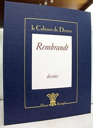 Le Cabinet de Dessin. Rembrandt . Aquarelles: Rembrandt und Henri