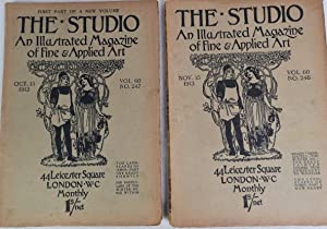 The Studio. An Illustrated Magazine of Fine & Applied Art. Vol. 60. NO.247; NO. 248. Oct. 15, 191...