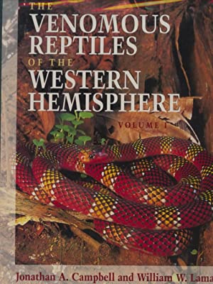 The Venomous Reptiles of the Western Hemisphere - Volume 1 & 2.