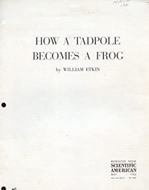 How a Tadpole Becomes a Frog.
