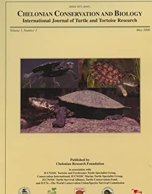 Chelonian Conservation and Biology International Journal of Turtle and Tortoise Research. Volume ...