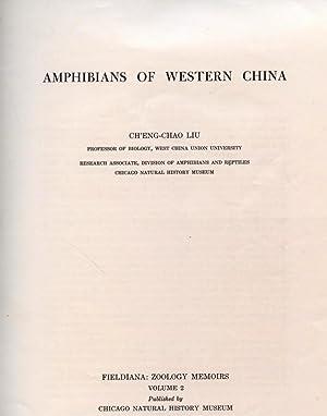 Amphibians of Western China: Liu, Ch'eng-chao
