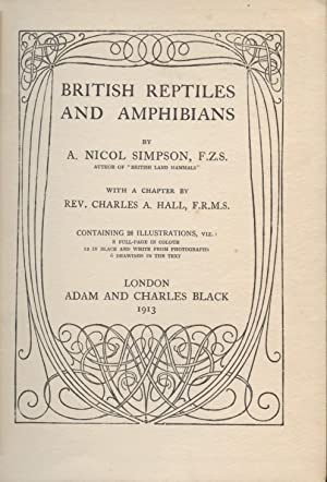 British Reptiles and Amphibians: Simpson, A. Nicol, F.Z.S.