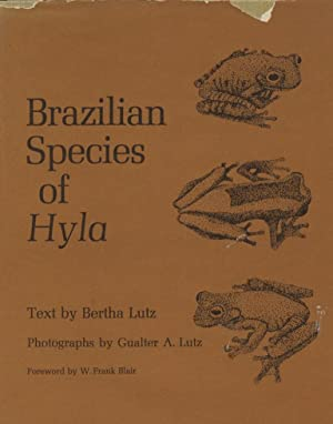 Brazilian Species of Hyla.: Lutz, Bertha