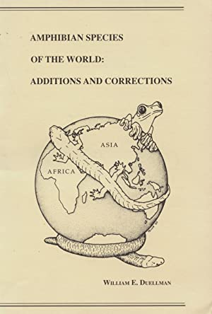 Amphibian Species of the World: Additions and Corrections
