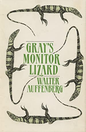 Gray's Monitor Lizard.: Auffenberg, Walter