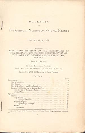 The Amphibians and Reptiles of Lower California and the Neighboring Islands Scientific Results of ...