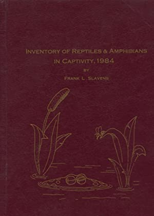 Reptiles and Amphibians in Captivity Breeding - Longevity, and Inventory Current January 1, 1984