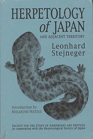 Herpetology of Japan and adjacent Territory: Stejneger, Leonhard