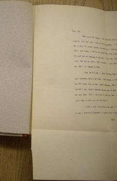 letter to his literary agent and friend: FAULKNER, WILLIAM.
