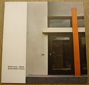 Het Rietveld, 1924. Schröder Huis, 1924 -: RIETVELD & KWADRAAT-BLAD.,
