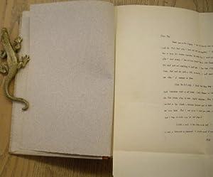 Original handwritten letter to Ben Wasson. [: FAULKNER, WILLIAM.