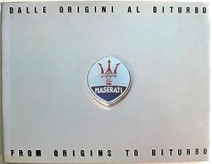 Maserati Dalle Origini al Biturbo From Origins: Golinelli, E and