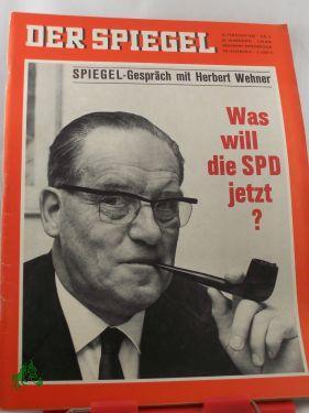 8/1966, SPIEGEL-Gespräch mit Herbert Wehner Was will die SPD jetzt?