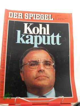 3/1979, Kohl kaputt: Der Spiegel, das