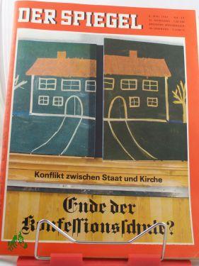 20/1967, Ende der Konfessionsschule?