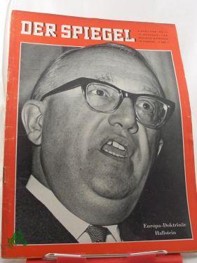 15/1960, Europa-Doktrinär Hallstein