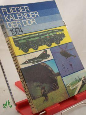 1974: Fliegerkalender der DDR