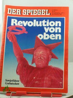9/1987, 23. Februar, Revolution von oben