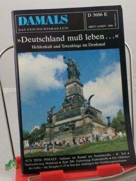 1171988, Deutschland muß leben: DAMALS, Das Geschichtsmagazin