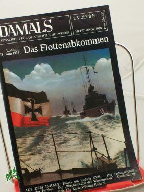 11/1978, Das Flottenabkommen: DAMALS, Das Geschichtsmagazin