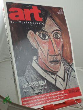 4/1998, Picasso lebt: art, Das Kunstmagazin