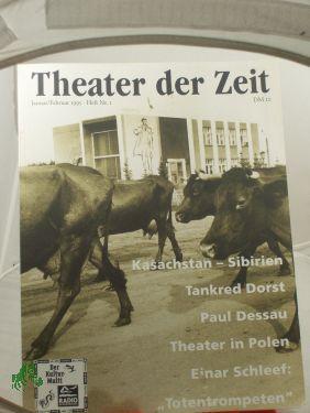 Heft 01/1995 Theater in Osteuropa: THEATER DER ZEIT,