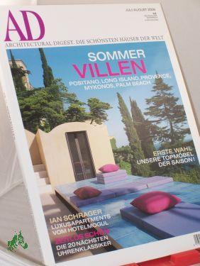 7/2006, Ian Schrager Luxusapartments vom Hotelmogul: AD Architectural Digest.