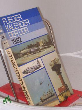 1982: Fliegerkalender der DDR