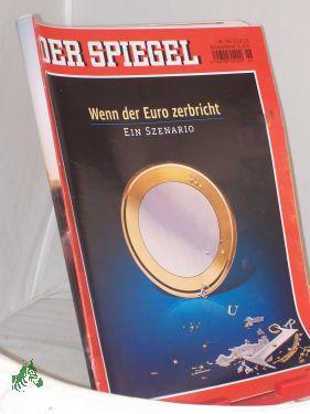 26/2012, Wenn der Euro zerbricht